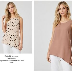 HP✨Le Château set of 2 small blouses new